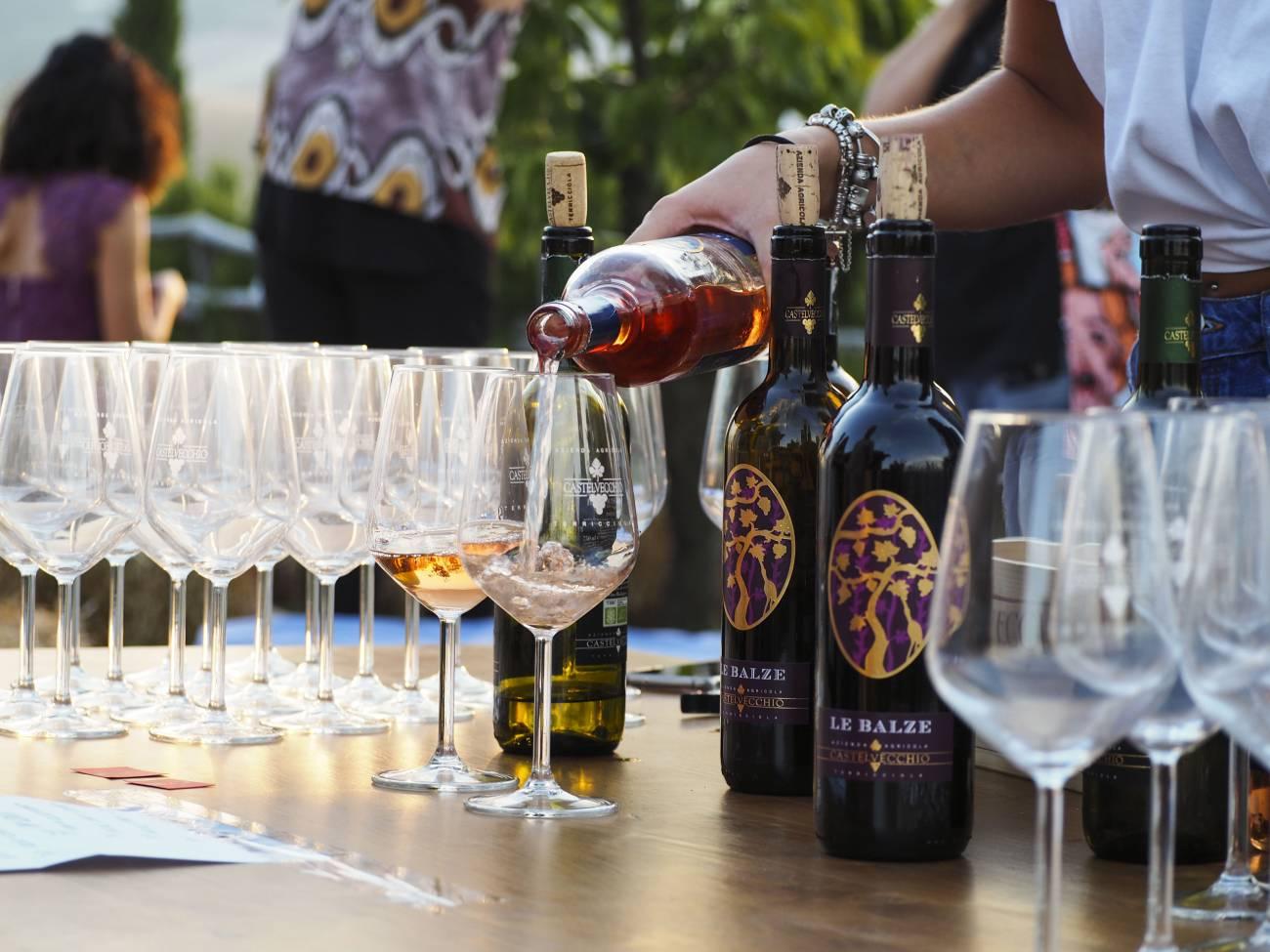 Castelvecchio wine's taste